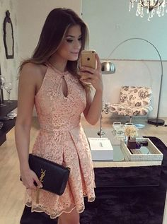 2017 homecoming dresses, lace homecoming dresses, short prom dresses, formal dresses, party gowns, sexy cocktail dresses#SIMIBridal #homecomingdresses