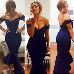 $139.99 Blue Long Off-the-Shoulder Mermaid Satin Prom Dresses 2017products_id:(1000075476 or 1000075461 or 1000075170 or 1000074421 or 1000073444)