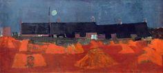 Joan Kathleen Harding Eardley (1921-1963) - Cornfield at Nightfall, 1952