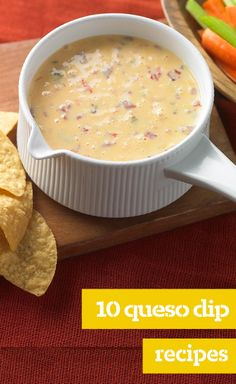 10 Queso Dip Recipes — There's no yummier way to get the fiesta started than with warm queso dip—and our queso dip recipes ensure you'll have plenty to choose from!
