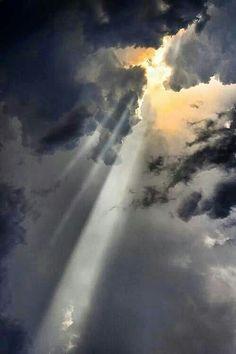 Let the sun shine....let the sun shine through!