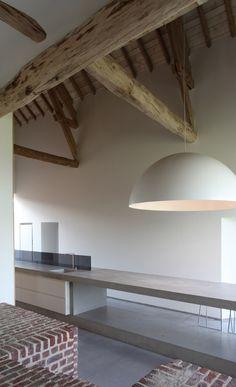 """Premio internacional Wienerberger (Ladrillo 2012 para """"vivienda unifamiliar""""). The Rabbit Hole: Pavimentación de ladrillo de la unidad de piso a techo"""