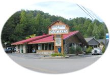 Little House of Pancakes in Gatlinburg, TN-  This is where the LOCALS eat breakfast and lunch...Need we say more?  Folks, there are dozens of fine restaurants in Gatlinburg, and if you live here like we do, you end up trying most of them.   But if you are like us, you'll find yourself BACK at the LITTLE HOUSE OF PANCAKES for your breakfast and lunch!  Whether it be biscuits and gravy, country ham, giant salads, burgers, home cooked vegetables, you'll enjoy your meal and you'll LOVE THE PRICE...