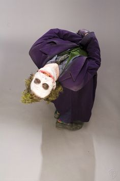 Rare Heath Ledger Joker Photo