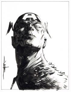 Captain America by Jae Lee *