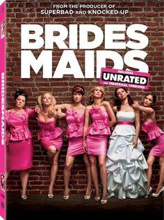 Bridesmaids dvd....HILARIOUS.