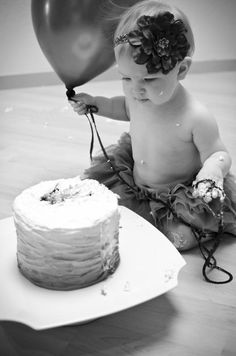 First Birthday Cake Smash, Photography Baby