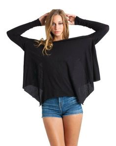 HaileyMason, LLC Store - Talia Hancock Nora Top, $85.00. Use coupon code: PinIt for 25% off your purchase! #top #black #winter #cute #style #fashion