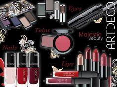 ArtDeco Majestic Beauty Makeup Collection for Autumn 2014 Power Of Makeup, Beauty Makeup, Pretty Packaging, Pretty Makeup, Makeup Collection, Pretty Pictures, Art Deco, Blush, Eyeshadow