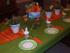 My Creative Stirrings: Peter Rabbit Birthday Party