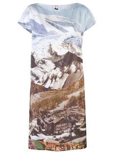 CARVEN - MOUNTAIN SHIFT DRESS