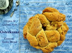 Vegan, Gluten-Free Osterkranz (German Easter Bread)