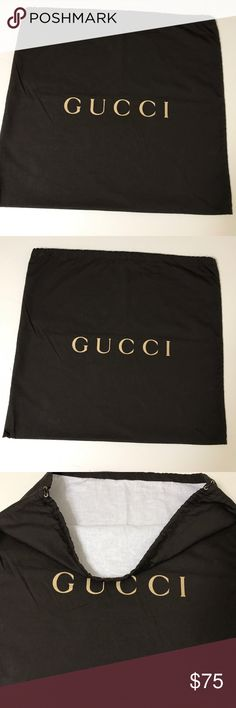Authentic Gucci Large Lined DustBag- Super nice lined Gucci Dustbag! No defects . 20.5X 19 Gucci Bags