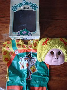 Vintage Halloween Cabbage Patch Kids Tiny Tot Size 2-3 Costume Ben Cooper NIB
