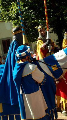 rievocazione del medioevo ad Arezzo
