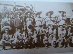 """Equipo de baseball """"Charros de Jalisco"""", año 1939. Guadalajara Jalisco."""
