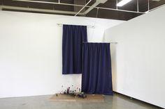 """in front curtain"" by TAN Ru Yi. 2017  http://tanruyi.blogspot.com"