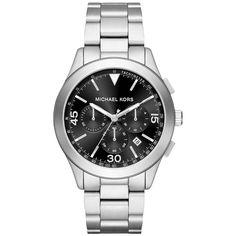 Michael Kors Men's MK8469 Gareth Chronograph Dial Silver-Tone Bracelet Watch