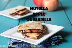 Nutella-Apple Quesadilla@Dinnersdishesdessert