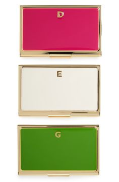These classy Kate Spade business card holders are professional yet still so chic.