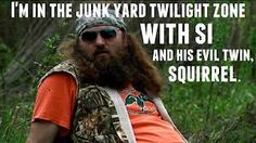 How do they come up with this stuff!    Duck Dynasty- such a funny show