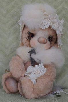 Lady Winter by By Tatiana Sadovskaya-Author Toys   Bear Pile