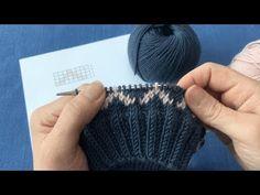 Knitting Stitches, Knitting Needles, Baby Knitting, Punto Fair Isle, Fair Isle Pattern, Tips & Tricks, Linen Bag, Beanie Pattern, Fair Isle Knitting