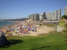 Playa El Sol en Viña del Mar