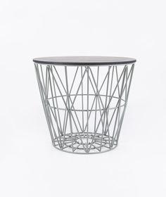 FERM Wire Basket Top small black