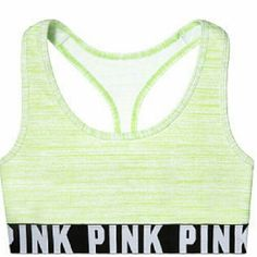 PINK SPORTS BRA NWT PINK PINK Victoria's Secret Tops