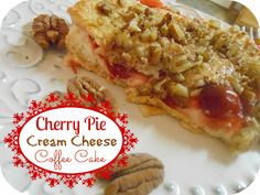 The Better Baker: Cherry Pie Cream Cheese Coffee Cake