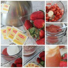 Strawberry Tea Recipe Ingredients