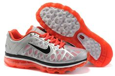 new product cd907 d5720 Grand Nike Air Max 2011 Pour La Vente Rougeâtre Orange Argent Gris  Chaussures De Course