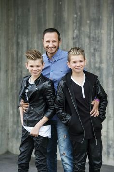 Marcus and Martinus and Dad forever💖💖❤❤