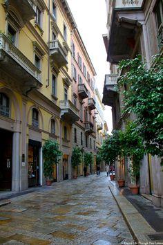 Milan, Italy  Via della Spiga, by Life Through Two Lenses Photogrraphy