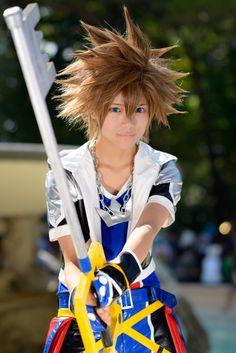 Sora from Kingdom Hearts #Cosplay