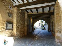 Alquézar Streets (Spain)