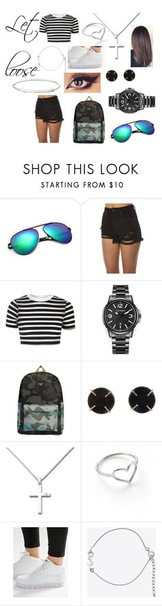 """""""Let loose"""" by lilmisnoone ❤ liked on Polyvore featuring Abrand, Topshop, Billabong, Melissa Joy Manning, Anastazio, Jordan Askill, Wize & Ope and Yves Saint Laurent"""