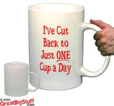I found my size coffee cup ;-)