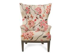 Shop for Brunschwig & Fils Mr. Wing Chair, BR-2031.Chair, and other Living Room Chairs at Brunschwig & Fils in Bethpage, NY. Mrs. Wing Chair Available BR-2030.Chair; Ottoman Available BR-2032OTT.Ottoman.
