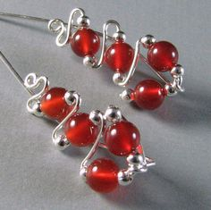 Ear Sweeps Ear Climbers Sterling Silver and by WireYourWorld