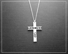 Marine Wife Necklace, US Marines Necklace, Marine Corps Mom Necklace, Sterling Silver Military Jewelry