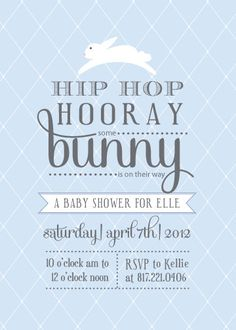 hip hop hurray some bunny is . Easter Hunt, Easter Eggs, Easter 2014, Easter Baby, Wishes For Baby, Baby Shower Parties, Baby Showers, Mini Sessions, Vintage Easter