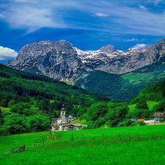Mountain Village, Ramsau, Germany