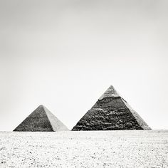 Pyramids of Giza #5- Cairo, Egypt | From a unique collection of black and white photography at https://www.1stdibs.com/art/photography/black-white-photography/