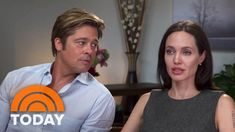 """Angelina Jolie, Brad Pitt Discuss Marriage, New Film, Cancer Fight   TODAY In a new interview, Hollywood super-couple Brad Pitt and Angelina Jolie opened up to NBC's Tom Brokaw about Jolie's health issues, how marriage has changed them, and sharing the screen for the first time in 10 years in the upcoming drama """"By the Sea."""" Jolie wrote and directed the movie, but """"she has no business in the kitchen,"""" Pitt jokes."""