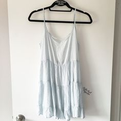 BNWT blue and white floral print Jada dress Cotton and viscose. $38 + $4 shipping through ️️ Brandy Melville Dresses Mini