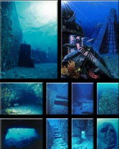 JOJO POST STAR GATES: 8000 YEARS OLD SUNKEN RUINS DISCOVERED BY A SPORT DIVER. Some 68 miles past the east coast of Taiwan, off the coast of Yonaguni Islands, however, it is still unclear which missing city they made up. The most spectacular discovery amongst the submerged ruins is A LARGE PYRAMID STRUCTURE, finely designed archways resembling the Inca civilization, staircases and hallways, and carved stones.