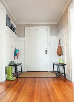 Kid-Friendly Entryway | House & Home