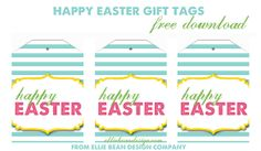 Easter gift tags free printable template easter pinterest image result for free printable gift tags for gift baskets negle
